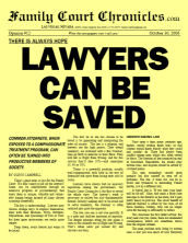 Lawyers Can Be Saved, 10/30/06