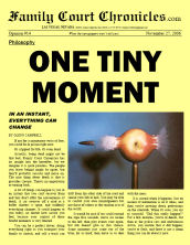 One Tiny Moment, 11/27/06
