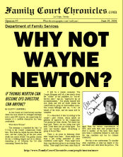 Why Not Wayne Newton?